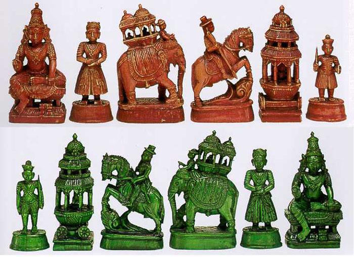 Индийский комплект шахмат